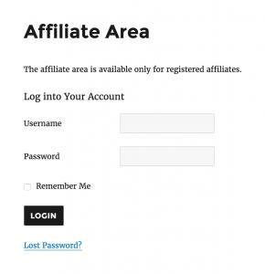 affiliate-area-login